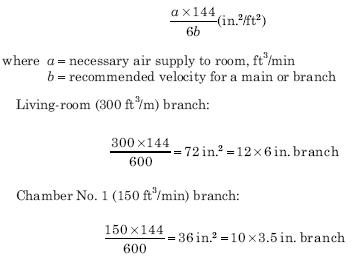 cal 1 HVAC Air Duct Calculations