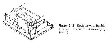 register fusible link HVAC Fire and Smoke Dampers