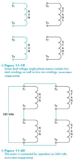 dual voltage winding 2 Dual Voltage Motor