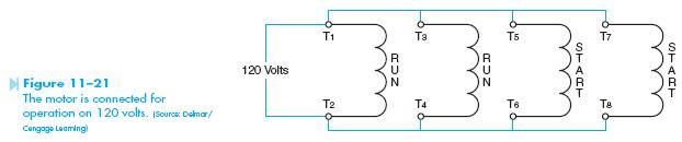 dual voltage winding 3 Dual Voltage Motor