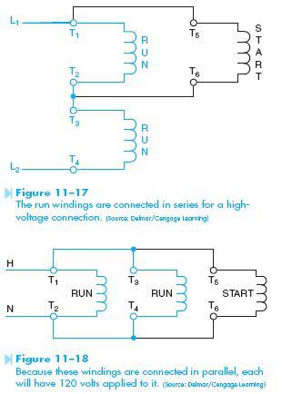 dual voltage winding Dual Voltage Motor