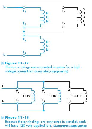 Dual Voltage Motor | HVAC Troubleshooting