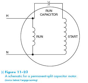 Capacitor Wire Diagram on psc compressor wiring diagram