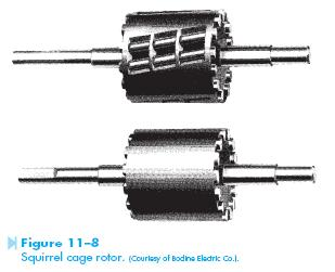 squirel cage rotor Resistance Start Induction Run Motor