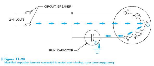capacitor terminal Identifying Motor Capacitor Terminals