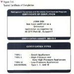 Technician Certification