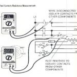 SWITCH/SWITCHED CONTACTS RESISTANCE MEASUREMENT PROCEDURES